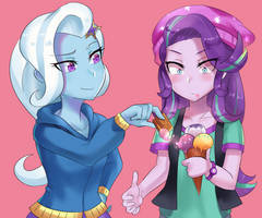 Trixie and Starlight by iojknmiojknm