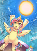 Everypony... Lend me your power! Please! by iojknmiojknm