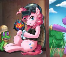 PUBG Pinkie Pie by iojknmiojknm
