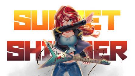 Guitar Shimmer by iojknmiojknm