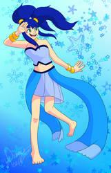 .:Gift:. Blue gurl by DummyHeart