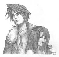 Squall and Rinoa by Miss-Christina-VII