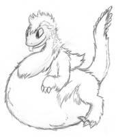 DDV #10 - Fluffy Raptor Belly! by PingTheHungryFox