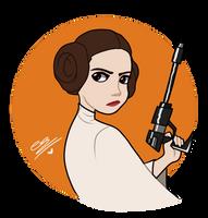 Princess Leia by SimpaticasX2
