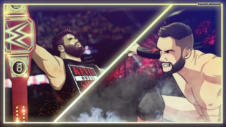 WWE - Kevin Owens vs Finn Balor by TheWolfMonster