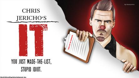 WWE - Chris Jericho by TheWolfMonster