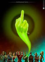 Anitilluminati Justice League by cdelafuente