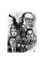 Robocop ink by cdelafuente