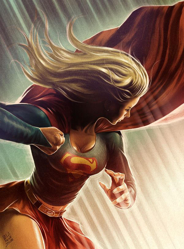 Supergirl by cdelafuente