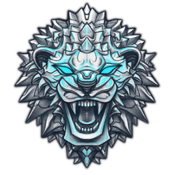 Lion logo by AshiRox