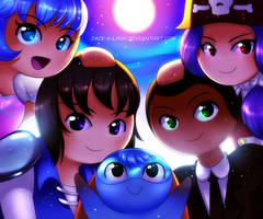 Super 4 Heroes United by Jacky-Bunny