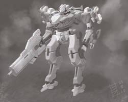 My Armored Core by ModalMechanica