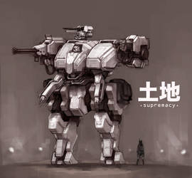 Mecha - DaiTochi by ModalMechanica