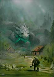 Exterminador de dragones by Matcabezas
