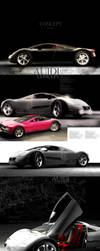 AUIDI CONCEPT Vray Render by TR3d