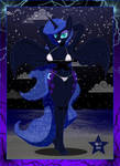 Nightmare Moon at the Beach by Sonork91