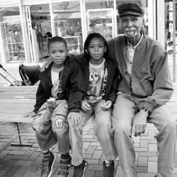 Grandpa and grandsons by steppeland