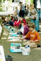 Arts class in Artis - Colour by steppeland