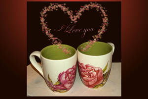 Cups of love - I love you by steppeland