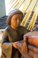 Angel face - sculture close-up 1 by steppeland