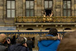 Princesses join their parents to wave at the crowd by steppeland