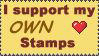 I support my stamps by RicktwStamps