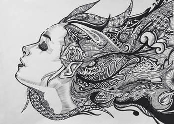 Tangled Dreams by Soneuno