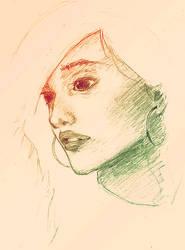 Portrait by 0xo