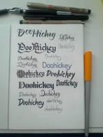 Doohickey by hamdiggy