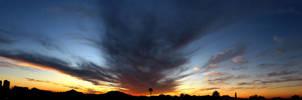 Tucson Sunset 003 by hamdiggy