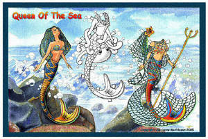 Queen Of The Sea by ranunkel