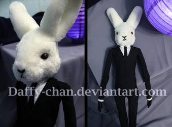 White Rabbit, the doll by Daffy-chan