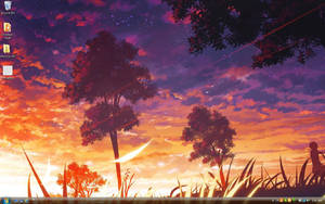 11-16: Anime Scene - Sunset by mscherbear