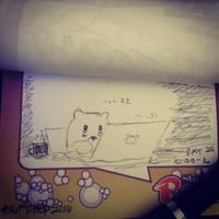 Project: Inktober 2016 -day 25- by mscherbear