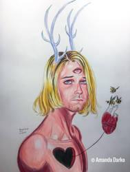 Kurt Cobain by AmandaDarko