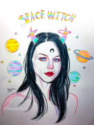 Space Witch - Frances Cobain by AmandaDarko