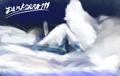 little mountain painting by darkzero779