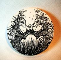 Dragon Love Coaster by MaryBunnie