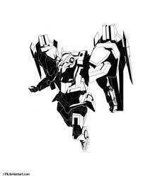Gundam 00: 00 Raiser by r7ll