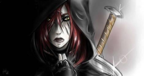 Bloody Shadow From Darkness by KogotsuchiDark