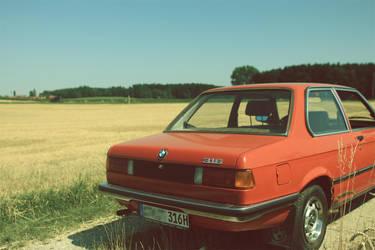 BMW 316 E21 1981 #3 by flu0rgfx