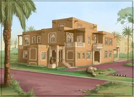 Arabic Villa 1 by kusakos