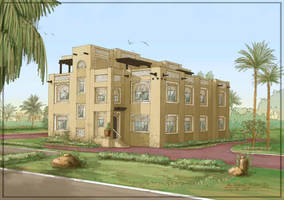 Arabic Villa 2 by kusakos