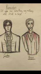 Night Vale Sketches by Cinnamon-Bean
