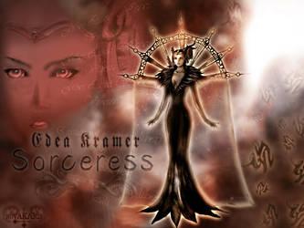 Sorceress Edea by Novakaris