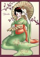 Geisha color by Yureka-chan