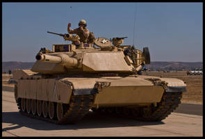 M1 Abrams by AirshowDave