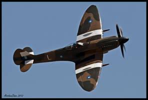 Spitfire MK XIV by AirshowDave