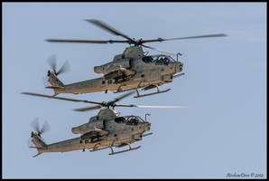 Bell AH-1Z Vipers by AirshowDave
