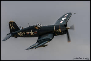 Corsair Planes of Fame 2013 II by AirshowDave